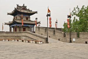 Die Stadtmauer von Xian